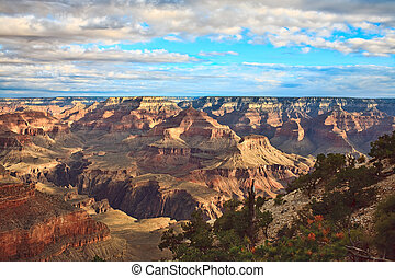 Grand Canyon Vista - A spectacular view of the Grand Canyon...