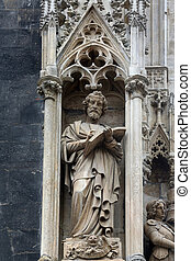 Saint Mark the Evangelist at St Stephens Cathedral in...