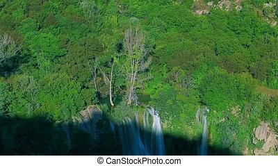 Manojlovac waterfall at Krka river - Manojlovac waterfall in...