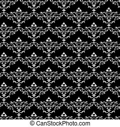 Vintage seamless wallpaper pattern - Vintage vector seamless...