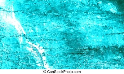 Abstract background ice structure, blue