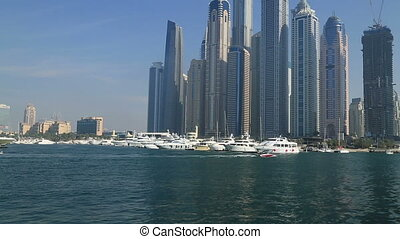 Dubai marina and towers