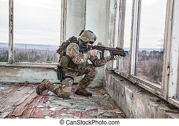 unido, estados, ejército, ranger, ,