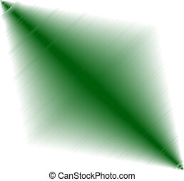 Green on white background