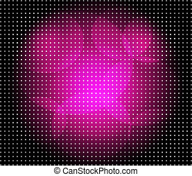 Dot purple background