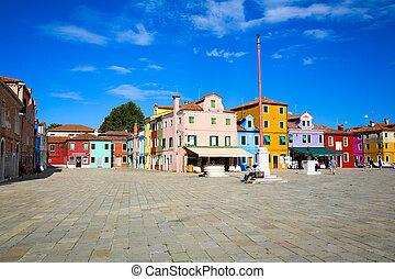Murano, Italy - Murano, Venice, Italy in a sunny summer day