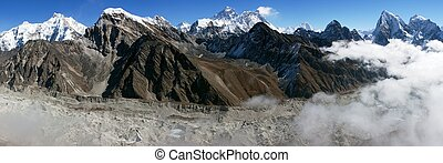 view of Everest from Gokyo Ri - view of everest from gokyo...