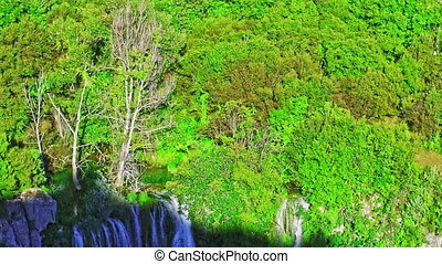 Manojlovac waterfall Krka river - Manojlovac waterfall on...