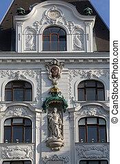 King Frederick III, Regensburger Hof, Wustenrot Building in...