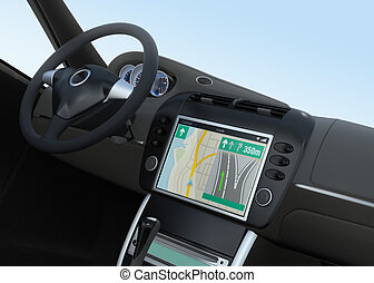 Smart car navigation system - Smart car navigation interface...
