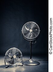 ventilator in a room in different size