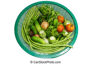Vegtables in a Bowl,lentils,tomatoes,cucumbers,Centella...