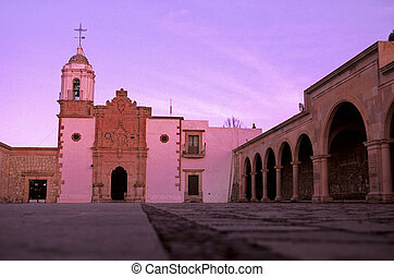 Chapel- Zacatecas- Mexico - Exterior of the Chapel of the...
