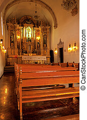 Chapel- Zacatecas, Mexico - Interior of La Capilla de la...