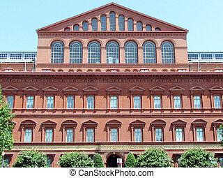 Washington National Building Museum facade 2013