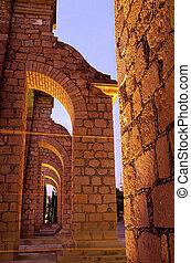 Aqueduct- Zacatecas, Mexico - 18th century El Cubo aqueduct...
