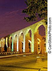 Aqueduct- Zacatecas, Mexico - 17th century Acueducto el Cubo...