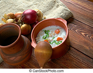 Graubunden Barley Soup - classic soup from Switzerland