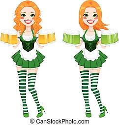 St. Patrick Irish Girl Beer