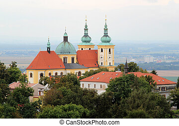Holy Hill in Olomouc in the Czech Republic