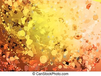 abstract background with shiny shapes