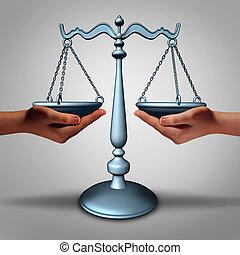 légal, soutien,
