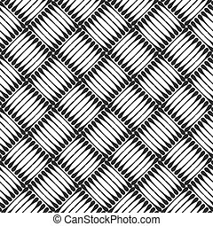Seamless checked texture. Vector art.