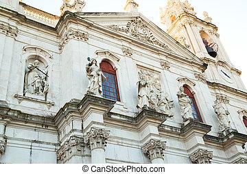 Estrela, basilika, LISSABON,