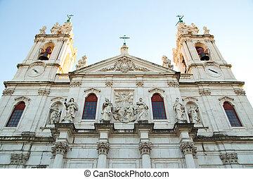 Estrela Basilica, lisbon.