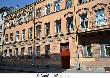 Old residential building, St.Petersburg.