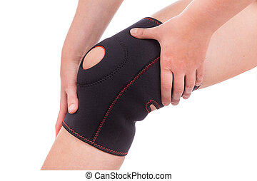 Sports injuries of the knee Muscle strain