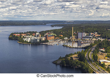 One of the areas of Tampere. Finland