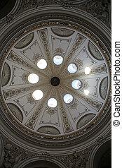 arquitectónico, hofburg, palacio, Austria, artístico,...