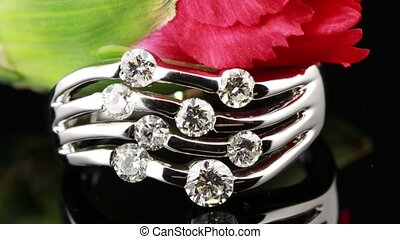 Wedding rings - Diamond wedding engagement rings