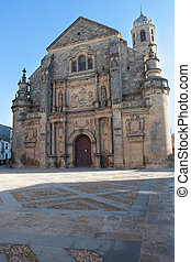The Chapel of the Savior in Ubeda, Spain - The Chapel of the...