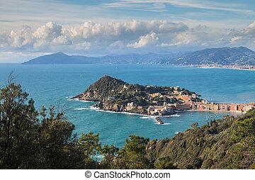 """Sestri Levante """"baia del silenzio"""" Liguria Italy"""