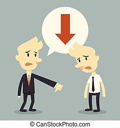 business failure concept