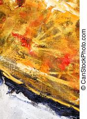 Extracto, amarillo, Plano de fondo, rojo