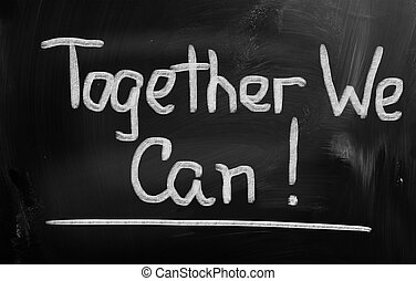 Together We Can Concept