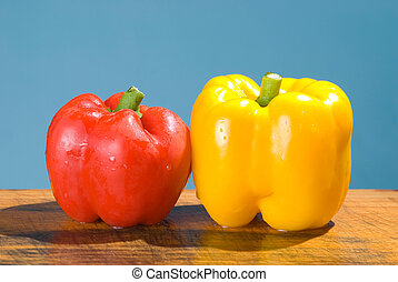 sweet ripe vegetable with vivid color