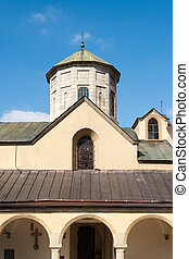 Armenian cathedral - Ancient Armenian cathedral in Old Town...