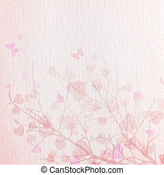 Valentine background or texture. Texture, paper, tree,...
