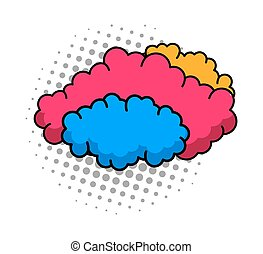 Colorful Clouds Background