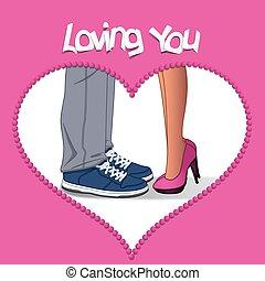 Valentine, amante