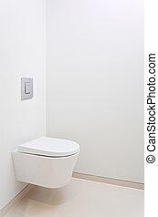 nowoczesny, toaleta,