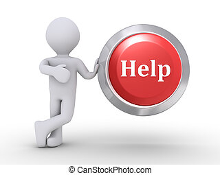 Person with Help button