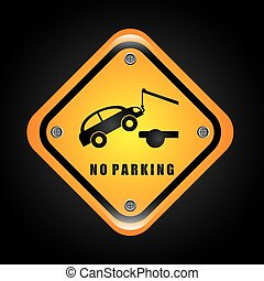 no parking design, vector illustration eps10 graphic