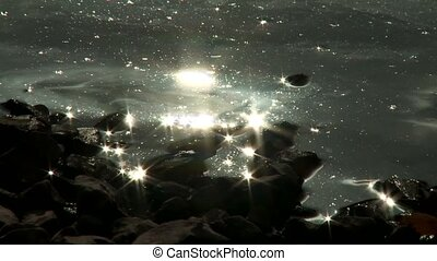 Light Effect on Water