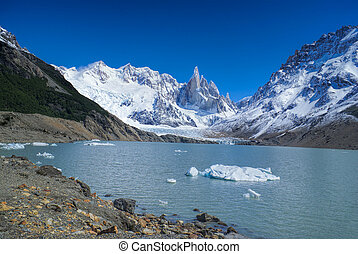 Los Glaciares National Park - Amazing view of snowy...
