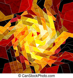 colorful abstract background - bright multicolored...